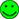 green happy smiley smallestst